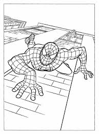 Small Picture Spiderman Coloring Page Spider Man Coloring Page Wecoloringpage