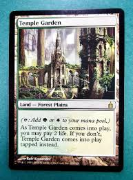 1x ravnica temple garden unpla mtg magic the gathering lp nm rare 1917992220