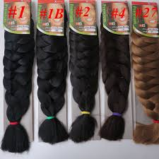 Xpressions Braiding Hair Color Chart Xpression Jumbo Braids Hair 82inch 165g Single Color Ultra Braid Premium Kanekalon Synthetic Braiding Hair Extensions Optional Bulk Human Hair For