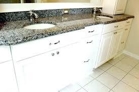 white bathroom cabinets with granite.  White Granite Top Bathroom Vanity White With  On White Bathroom Cabinets With Granite A