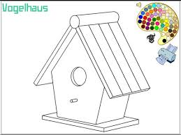 Small Picture Birdhouse Coloring Pages For Kids Birdhouse Coloring Pages YouTube