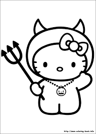 Small Picture Coloring Pages Of Hello Kitty Hello Kitty Color Page Coloring