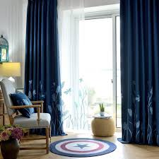 Navy Bedroom Curtains Blue Curtains Living Room