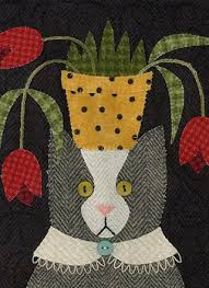 Cat pattern by Bonnie Sullivan | All Through The Night ... & Cat pattern by Bonnie Sullivan | All Through The Night | Needlework & Quilting  Patterns Adamdwight.com