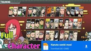 Cara Download Naruto Senki Mod Apk Original Terbaru - YouTube