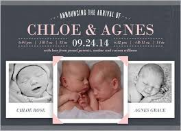 twin birth announcements photo cards 21 best ideas for the twins images on pinterest baby boy birth