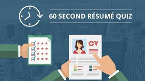 resume quiz do you know how to create a job winning resume take this 60 second resume quiz and improve your resume after answering each question you will receive a tip on how to improve your resume