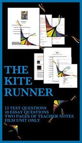 best the kite runner film ideas the choice book  kite runner test and questions film study