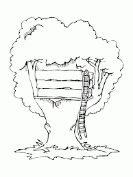 Magic Tree House Coloring Sheets Best Of Tree House Coloring Pages
