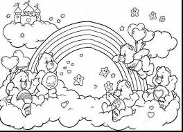 Small Picture Magnificent rainbow care bear coloring page with rainbow coloring