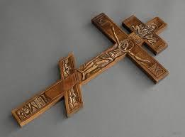 Decorazioni In Legno Da Parete : Madeheart gt croce di legno da parete fatta a mano ortodossa