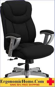ergonomic home tough enough series 400 lb capacity big tall black fabric executive swivel