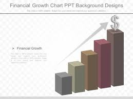 Financial Growth Chart Ppt Background Designs Powerpoint