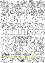 Random Coloring Pages Kindness Coloring Pages Kindness Coloring