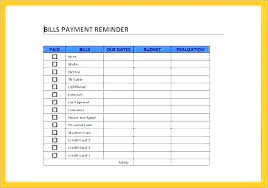 Bill Organizer Beauteous Free Monthly Bill Organizer Template Bills Spreadsheet Excel Budget