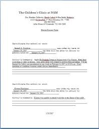 How To Fake Doctors Note For Work Fake Doctors Note Excuse Template Online Free Download