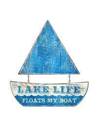 lake signs wall decor hanging this sea blue rustic metal sailboat sign on your lake house welcome to the lake house slate wall lake house wall decor