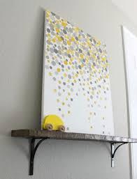 diy yellow and gray wall decor. lovely eye catching diy wall arts colorful circular paper pleats diy yellow and gray decor s