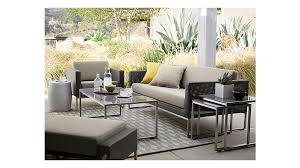 dune outdoor furniture. dune lounge chair with sunbrella cushions outdoor furniture crate and barrel