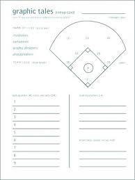 Captivating Softball Lineup Template Batting Order Sheet Pdf