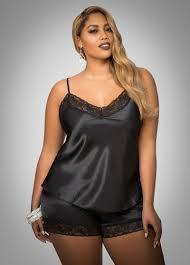 plus size short sets satin lingerie short set plus size lingerie ashley stewart