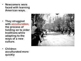 new immigrants in a promised land ppt video online newcomers were faced learning american ways