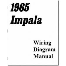wiring diagrams impalas com 1965 impala chevrolet passenger car wiring diagram manual