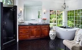 corner freestanding bathtub design