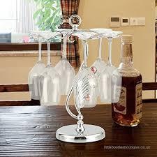 bipy wine cup display rack stemware glass cup hangers drying rack shelf holder for kitchen restaurant