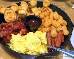 review chip n dale s harvest feast breakfast at garden grill restaurant in epcot