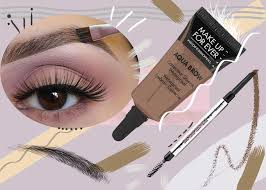 how to fill in eyebrows right best eyebrow s to try