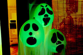 Halloween Decorations Diy Halloween Ghost Glow Balloons Yard Decorations Indoor