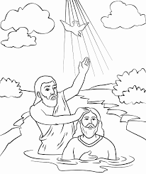 30 Jesus Baptism Coloring Page Show Coloring Pages