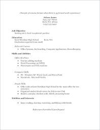 9 10 Resume Samples For High School Graduate Juliasrestaurantnj Com
