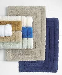ralph lauren home palmer bathroom bath rug 21 x 34 pale flannel cotton 70