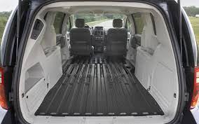 image of dodge caravan interior cargo e