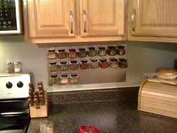 Kitchen Spice Storage Kitchen Spice Rack For Wall Mounting Wall Mount Spice Rack