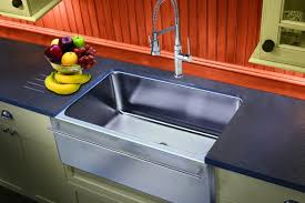 stainless steel a front farmhouse sinks are a top design trend that will perfectly integrate into traditional or contemporary kitchen setting