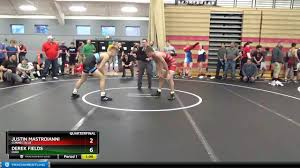 Junior Men 145 Justin Mastroianni Connecticut Vs Derek Fields Ohio - YouTube