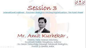 Business Analytics International Webinar Key Note Session 3 by Mr ...