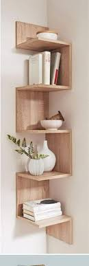 How To Decorate Corner Shelves 100 ways to decorate an awkward corner Corner shelf Decorative 2