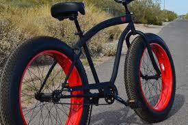 mens ufo fat tire cruisers az beach bikes sikk custom