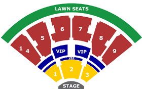 Alltel Pavilion Seating Chart 45 Correct Twc Music Pavilion Raleigh Nc Seating Chart