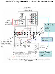 lennox furnace thermostat wiring diagram brilliant House Thermostat Wiring Diagrams heating and cooling thermostat wiring diagram in honeywell ripping tearing