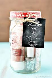 cute diy mason jar gift ideas for s diy pedicure in a jar best