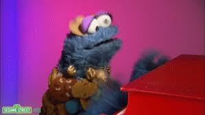 cookie monster dancing gif. Perfect Monster Cookie Monster GIF Image For Whatsapp And Facebook 15 To Dancing Gif