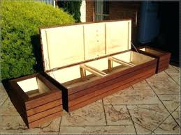porch storage bench living room incredible storage deck bench plans for a outdoor ideas wood hall