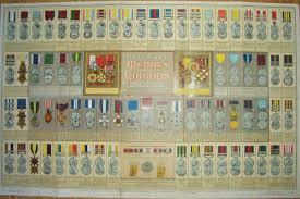 71 Right British Medal Ribbon Chart