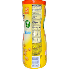 gerber nutrition facts ftempo inspiration banana baby food