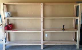 diy garage shelves garage shelving idea diy garage shelves